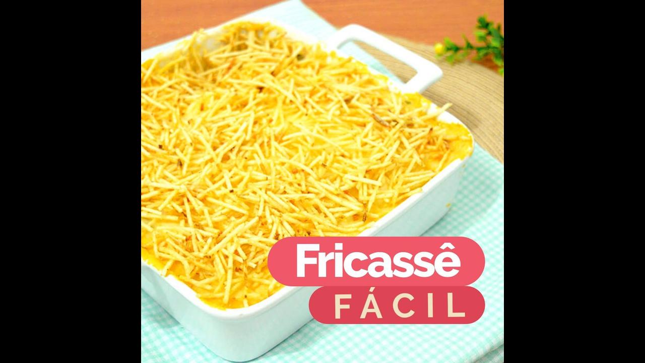 Receita mais fácil de Fricassê de Frango
