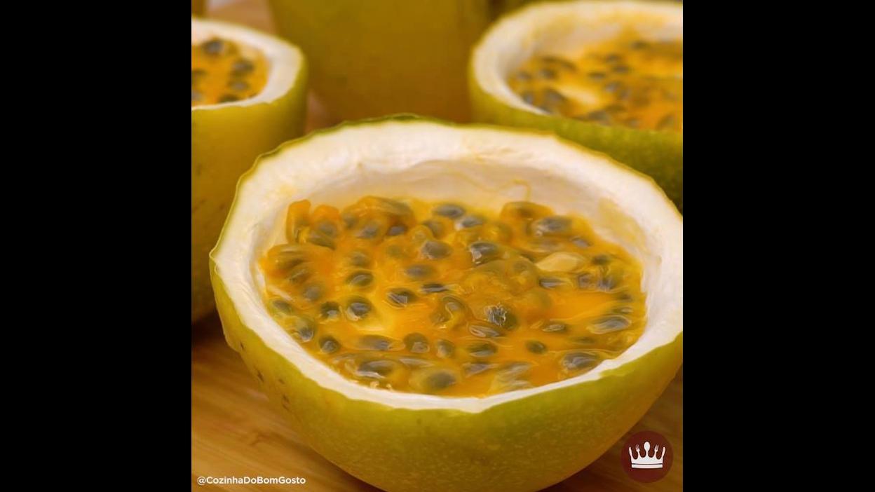 Receita mais gostosa de Mousse de Maracujá, você vai amar!