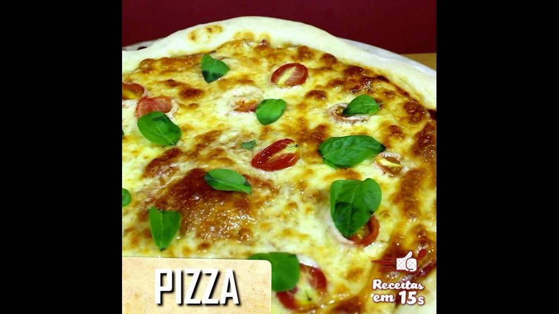 Receita simples de pizza, da massa ao recheio