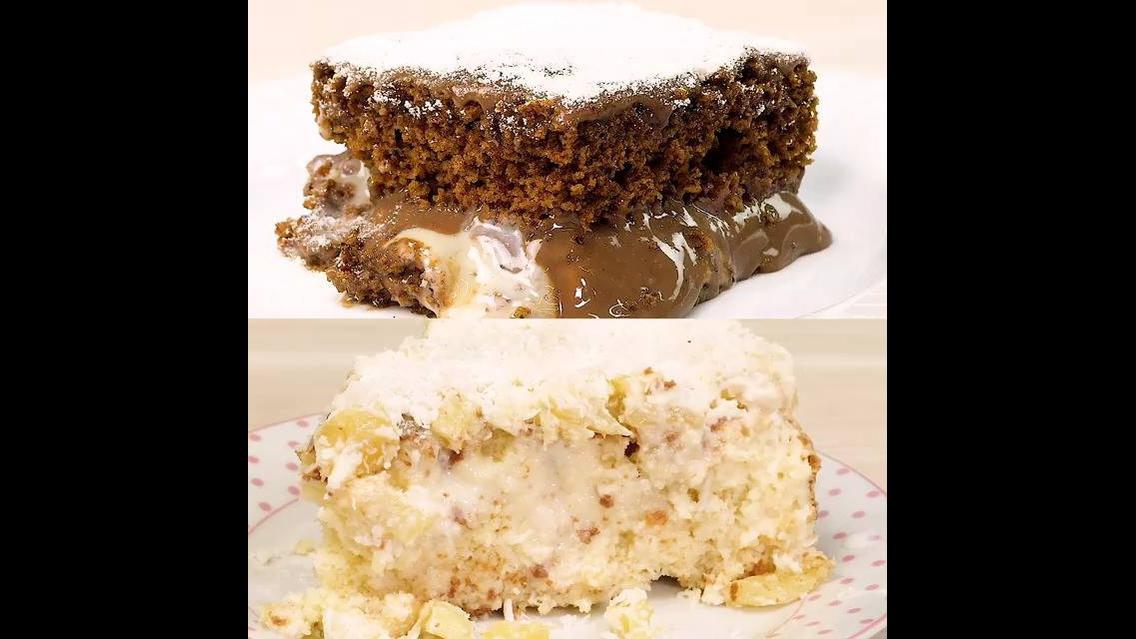 Receitas de bolos gelados