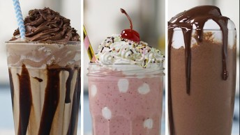 Receitas De Milk-Shake, São Três Opções Para Se Surpreender!