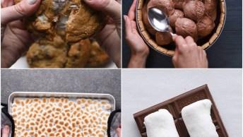 Receitas De Sobremesas Que Levam Marshmallows, Vale A Pena Aprender!