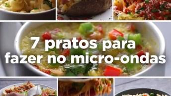 Receitas Para Fazer No Microondas, São Super Rápidas E Deliciosas!