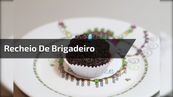 Recheio De Bolo E Tortas De Brigadeiro, Super Delicioso E Fácil De Fazer!