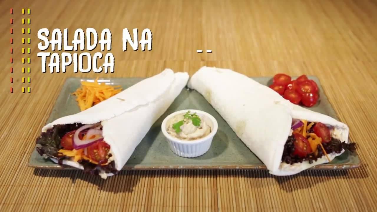 Salada na Tapioca, uma receita super refrescante e saborosa!