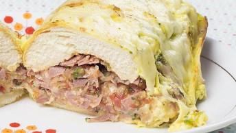 Sanduíche De Forno Caseiro, É Simplesmente Maravilhoso!