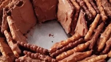 Sobremesa De Bolacha Super Fácil De Fazer, Confira Que Fácil!