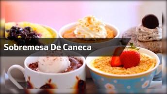 Sobremesa De Caneca Sem Açúcar, Fica Muito Bom, Confira!