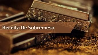 Sobremesa No Copinho De Chocolate, Essa Receita É Divina!