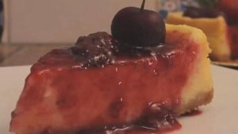 Sobremesa Para Ceia De Natal, Cheesecake De Mascarpone, Confira!