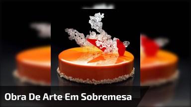 Sobremesas Que São Verdadeiras Obras De Arte, Confira Este Trabalho Incrível!