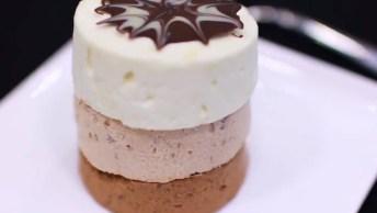 Sorvetes De Chocolates, Feitos Em Copinhos Descartáveis!