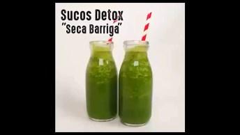 Suco Detox Para Secar Barriga, Trás Muitos Benefícios Para Saúde!