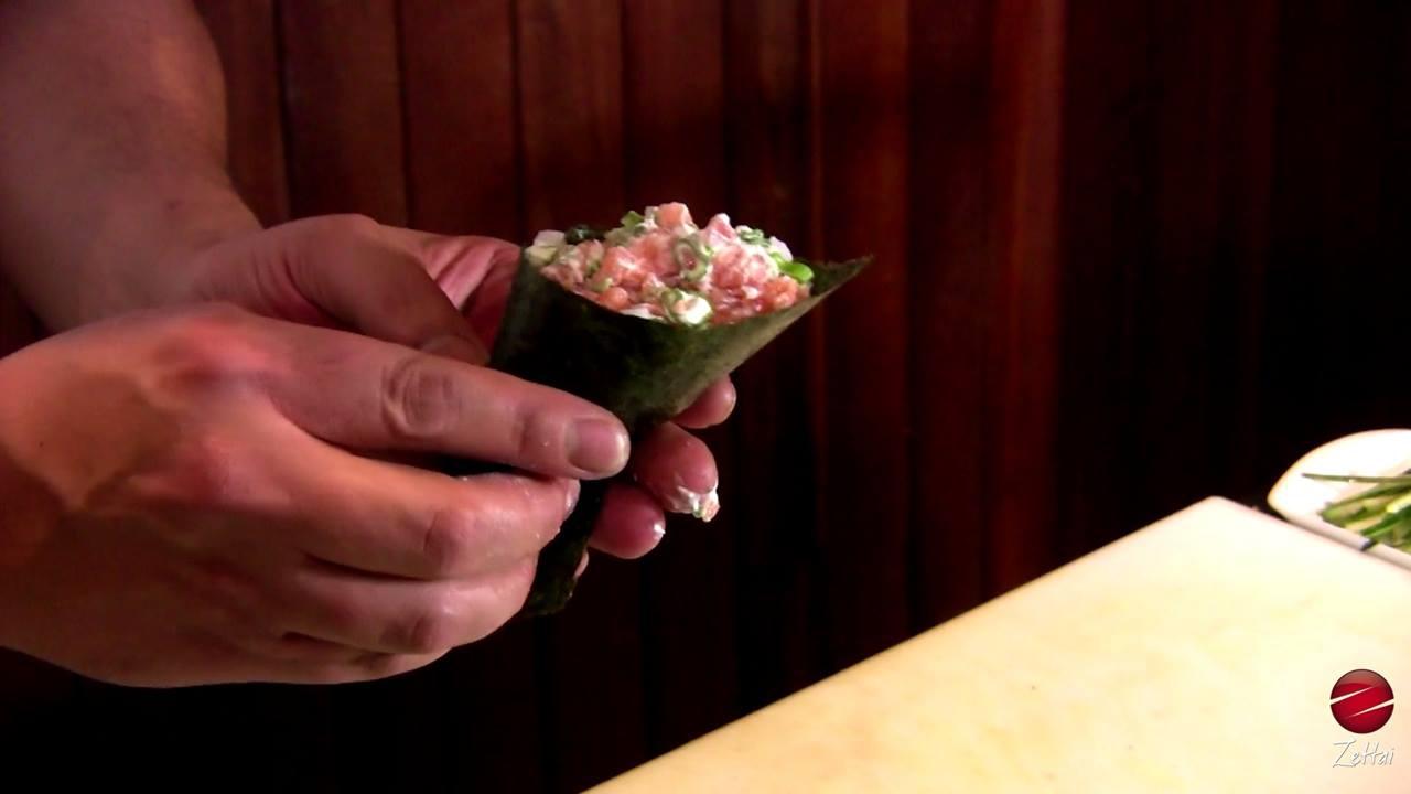 Temaki maravilhoso, compartilhe com quem ama esta delicia de comida!!!