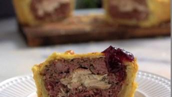 Terrine Em Crosta, Uma Iguaria Tradicional Francesa, Confira!
