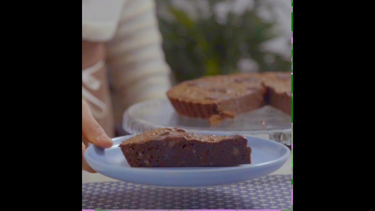 Torta Brownie, uma delícia para dar um toque especial no almoço de domingo!