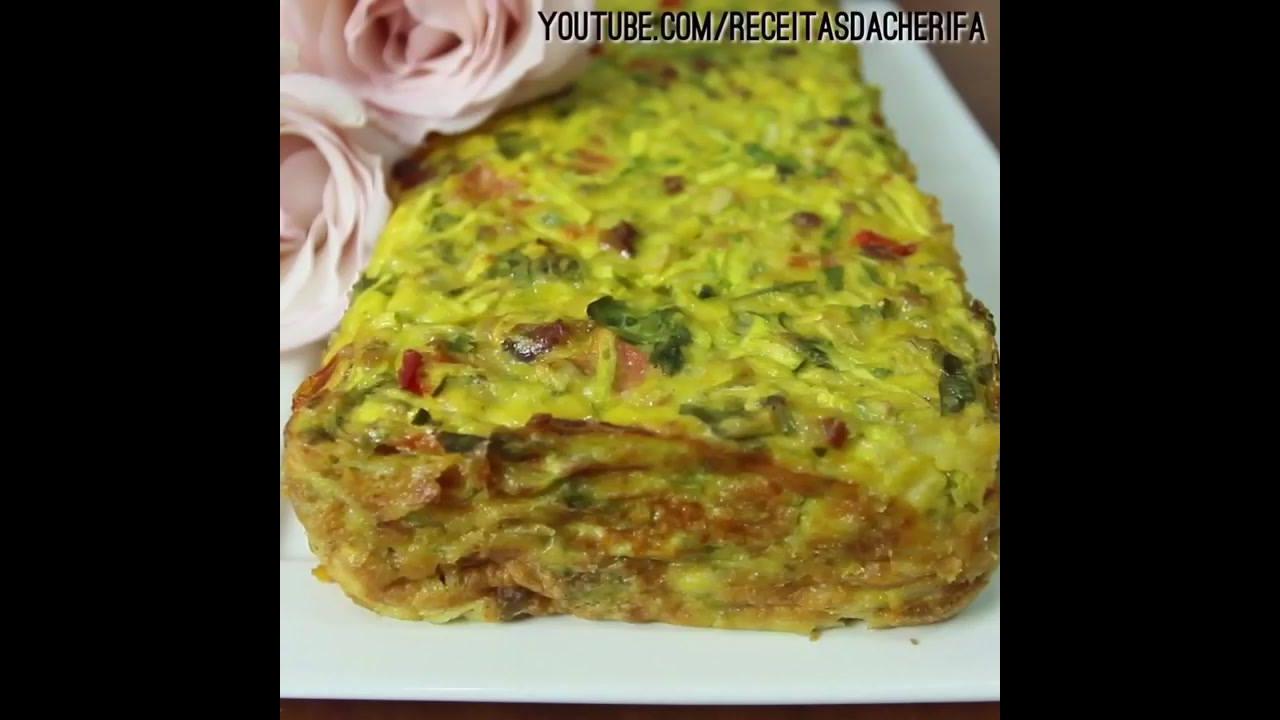 Torta de Abobrinha, uma receita com muito sabor para você!