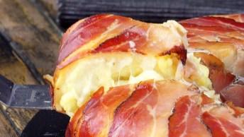 Torta De Batata Com Bacon - Um Sonho De Receita, Confira!