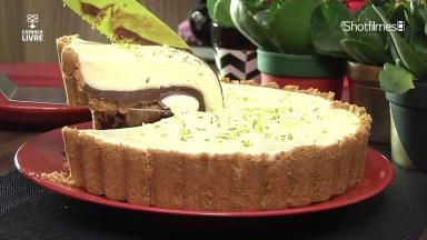 Torta De Limão Com Chocolate, Uma Combinação Que Deu Certo!