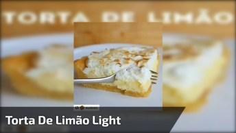Torta De Limão Light - Mais Uma Sobremesa Super Leve, Confira!