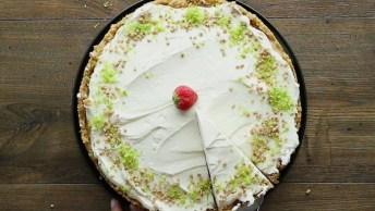 Torta De Limão Refrescante, Uma Receita Deliciosa Para O Verão!