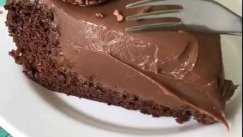 Torta De Mousse De Chocolate, É Uma Delicia Ficar Vendo Isso!