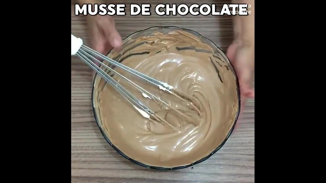 Torta de Mousse Napolitano
