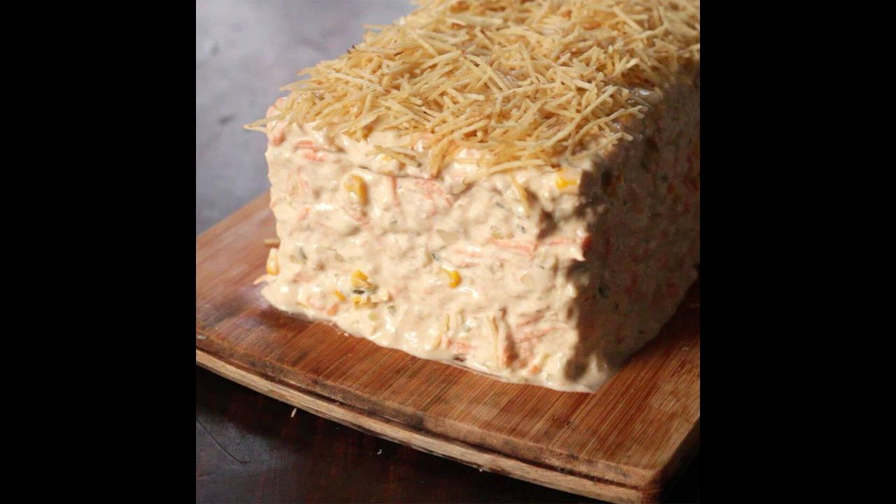 Torta fria de atum, uma boa receita para sair da rotina