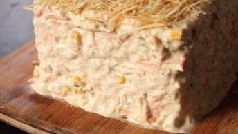 Torta Fria De Atum, Uma Boa Receita Para Sair Da Rotina, Confira!