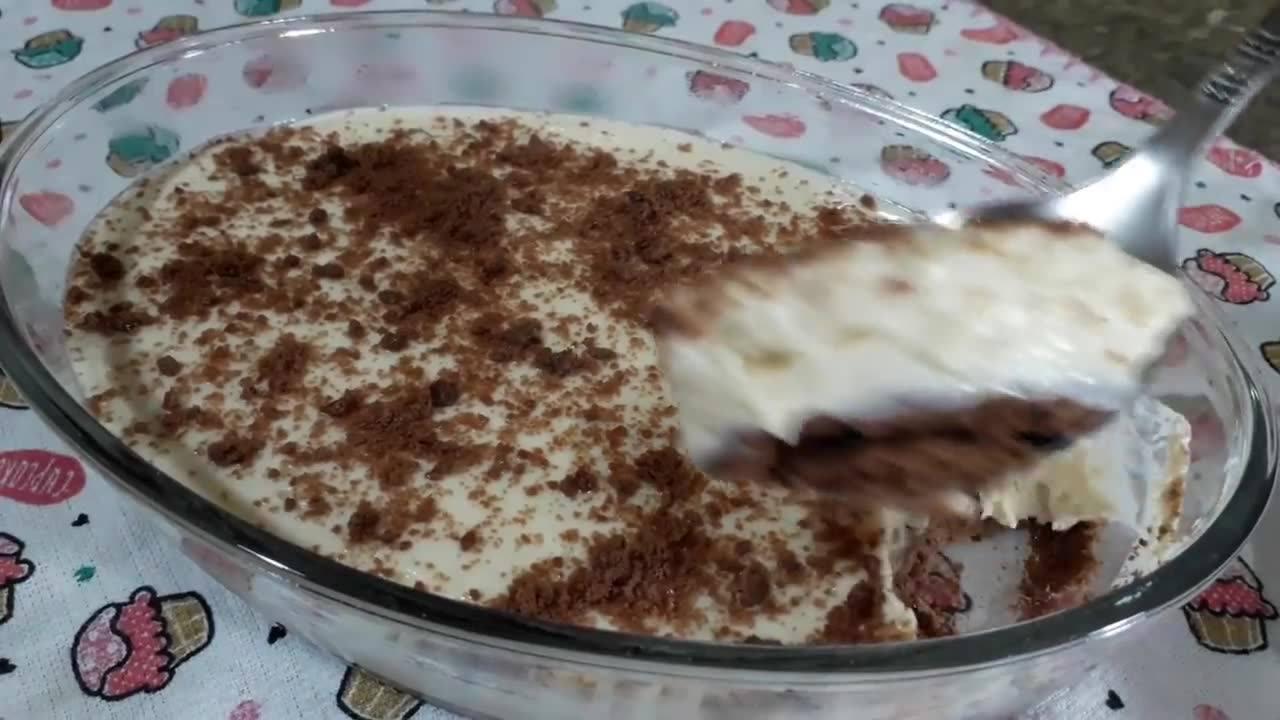 Torta na travessa - Uma receita de liquidificador