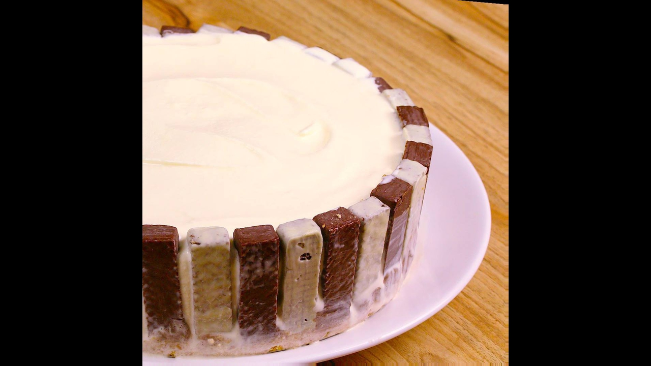 Torta Sorvete de Chocolate Crocante