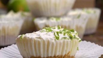 Tortinhas De Limão - Uma Ideia Que Vai Te Fazer Ir Para Cozinha Agora Mesmo!