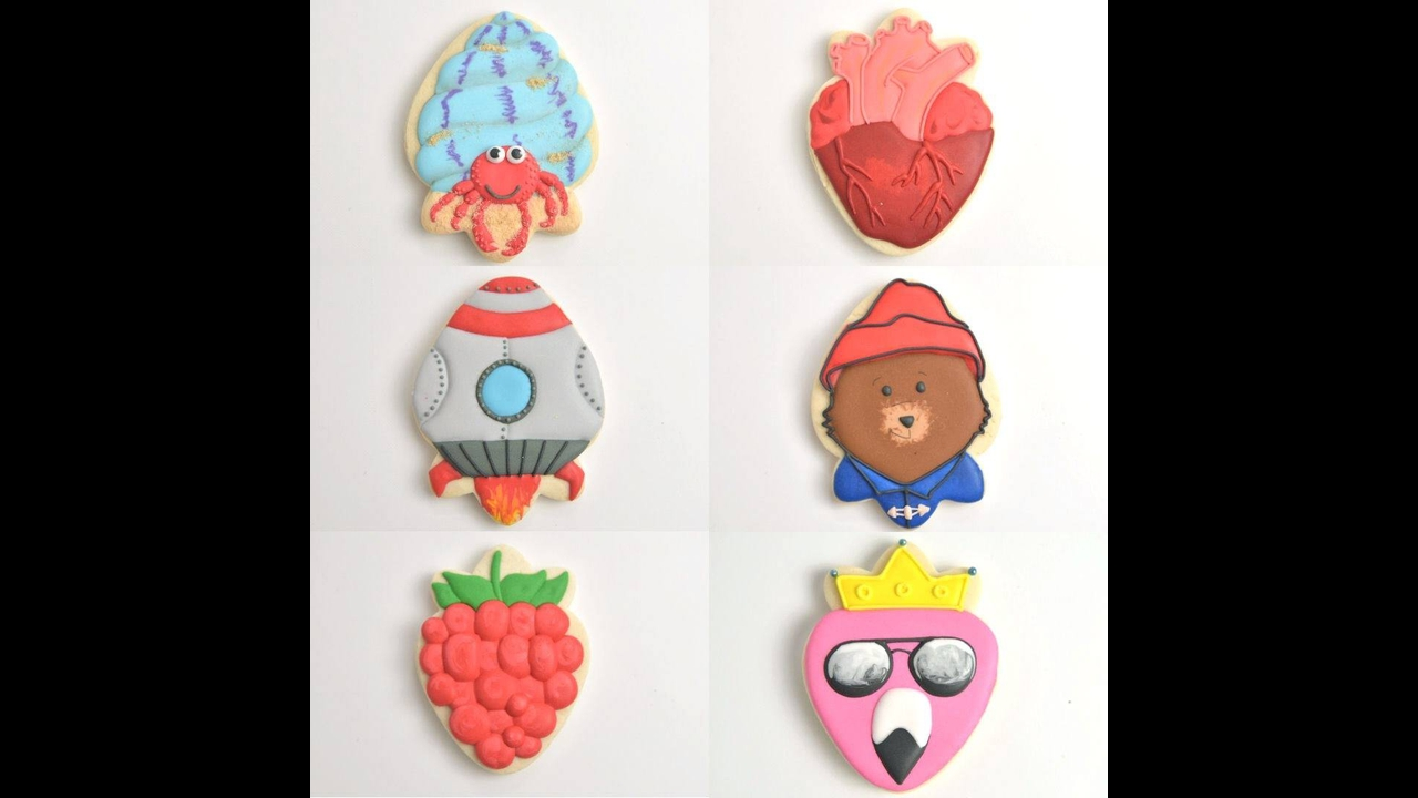 Tutoriais de biscoitos decorados, só os mais lindos estão nesse video!