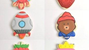 Tutoriais De Biscoitos Decorados, Só Os Mais Lindos Estão Nesse Vídeo!