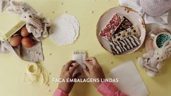 Veja Como Decorar Barra De Chocolates Para Presentear Os Amigos Na Pascoa!