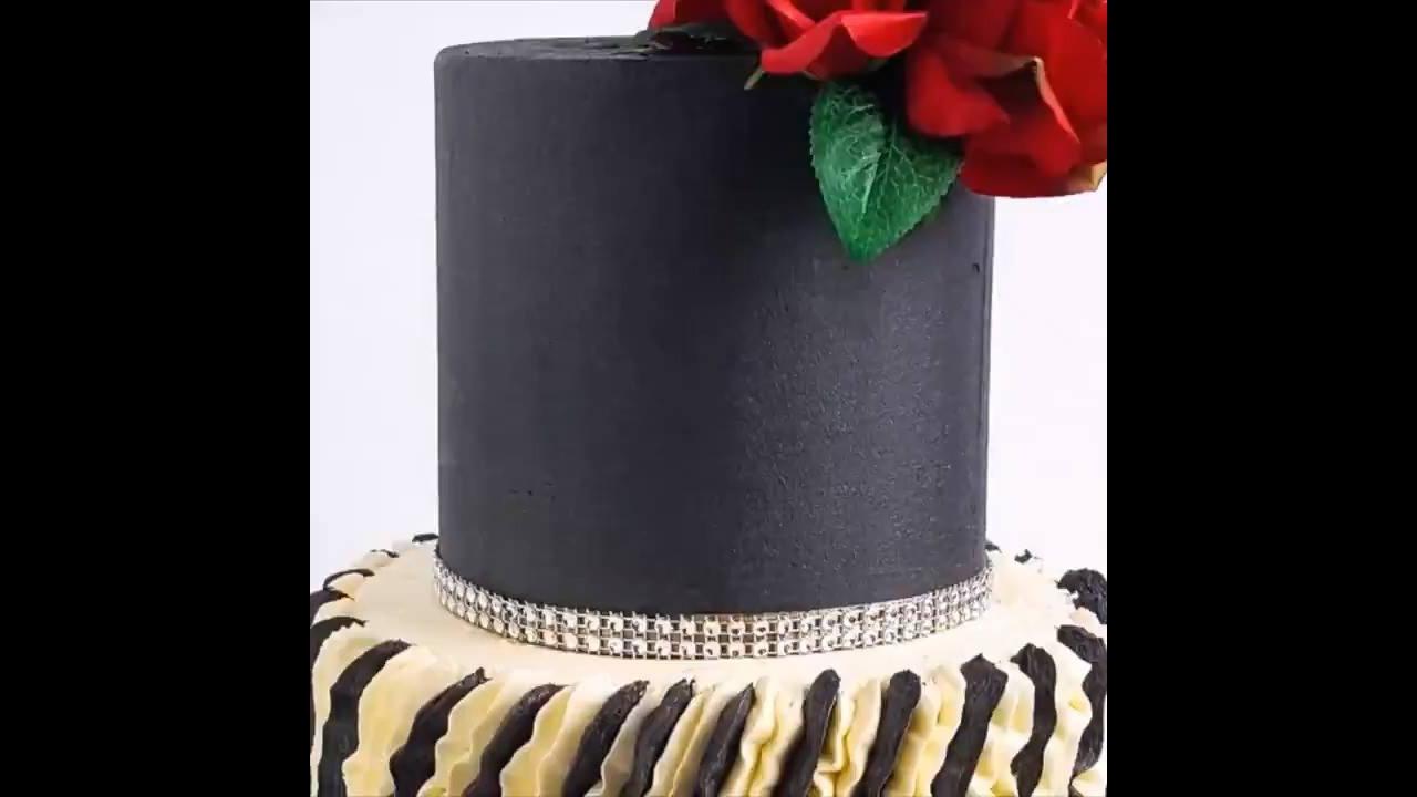 Vídeo com bolo que é uma verdadeira obra de arte