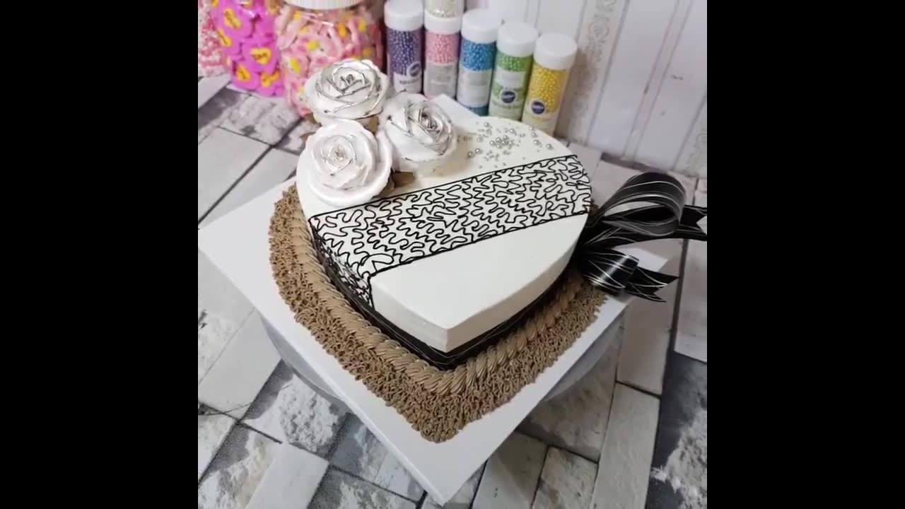 Vídeo com decoração de bolo maravilhoso