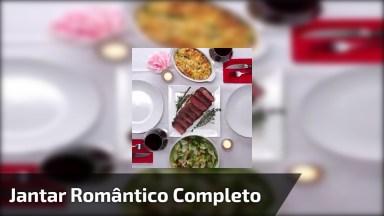 Vídeo Com Receita Completa De Jantar A Dois, Perfeita Para Noite Romântica!