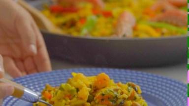 Video Com Receita De Paella, Um Prato Encantador E Colorido!