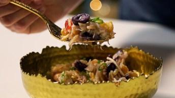 Video De Receita De Salada Crocante De Bacalhau, Um Prato Refrescante!