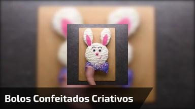 Vídeo Mostrando Como Confeitar Bolos De Forma Muito Criativa!