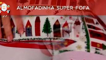 Tutorial De Almofadinha Super Fofa Com Decoração De Natal!