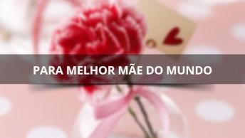 Um Feliz Dia Das Mães Para Melhor Mãe Do Mundo, Deus Te Abençoe Minha Mãe!