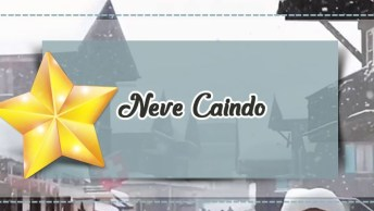 Video Com Imagem De Neve Caindo Para Compartilhar No Natal!