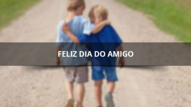 Vídeo Com Mensagem De Amizade Para Desejar Feliz Dia Do Amigo!