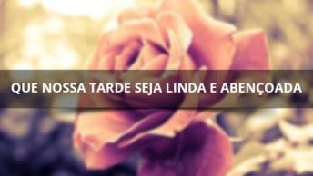 Vídeo Com Mensagem De Boa Tarde Para Amigos E Amigas Do Facebook!
