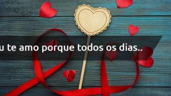 Vídeo Com Mensagem De Dia Dos Namorados Para Facebook - Eu Te Amo. . .