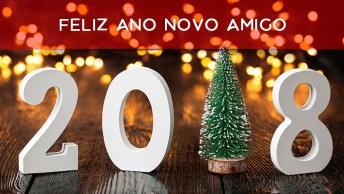 Vídeo Com Mensagem De Feliz Ano Novo Para Amigo, Deus Abençoe Você E Sua Família