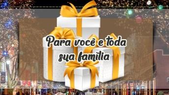 Vídeo Com Mensagem De Feliz Natal - Feliz Natal! Para Você E Toda Sua Família!