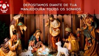 Vídeo Com Mensagem De Natal Católico Cristão, Que O Menino Jesus Abençoe A Todos